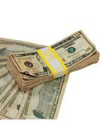 New Series $10 Full Print Aged Prop Money Stack Realistic Prop Money - $22.49