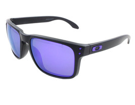 New Oakley Julian Wilson Series Holbrook Matte Black w/Violet Iridium OO9102-26 - $156.75