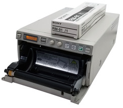 Sony UP-897MD Analog Videographic Thermal Printer With Remote Bin:2 - $129.99
