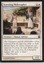 Magic The Gathering Traveling Philosopher Card #34/249 - $0.99