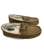 Eddie Bauer Edison Brown Suede Slippers Men's Size 10 M - $19.79