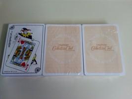 Longaberger 3 DECKS Playing Cards Collectors Club Standard Deck Stocking... - $9.85