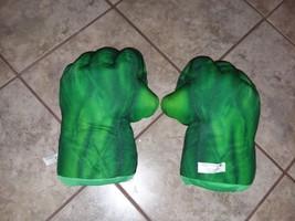 Incredible Hulk Hands plush smash fists. - $19.99