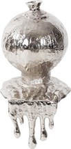Vase Howard Elliott Molten Contemporary Nickel Aluminum New - $369.00