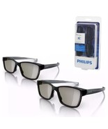Philips Pta436 Two Player Full Screen Gaming Glasses For 3d TVs - $19.70