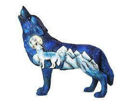The Wolf Spirit Collection Frost Mountain Wolf Spirit Collectible Figurine - £17.56 GBP