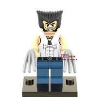 Single Sale Superhero Wolverine Logan Marvel X-Men Apocalypse Minifigures Block - $3.95