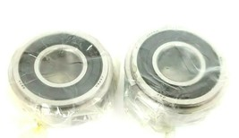 LOT OF 2 NEW JAF 5204 BEARINGS RADIAL DOUBLE ROW 20MM BORE image 1