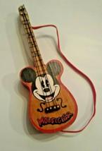 Walt Disney Mousegetar Guitar Christmas Ornament Mickey Mouse 1990 - $13.99