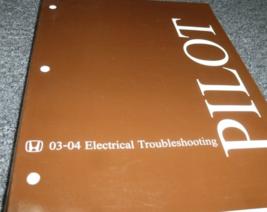 2003 2004 Honda Pilot Electrical Troubleshooting Wiring Diagram Manual OEM - $39.55