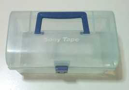 Sony Vhs Tape Storage Box Video Cassette Vcr Used - $19.79