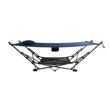 Sturdy Steel Frame Portable Hammock with Soft Air Mesh Pillow (Choose Co... - $130.19