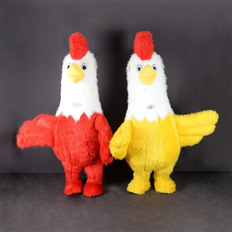chicken inflatable costume mascot cosplay for adult party derss image 2