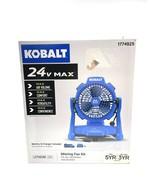 Kobalt 7-in 3-Speed Indoor/Outdoor Misting Stand Fan 1774925 1124A-03 - $98.99