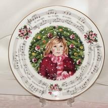 ROYAL DOULTON CHRISTMAS CAROLS SILENT NIGHT COLLECTOR PLATE 1983 HOLIDAY... - $12.89