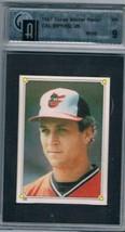 1987 Stickers #233 Cal Ripken Jr. Orioles  GAI 9 MINT - $29.65