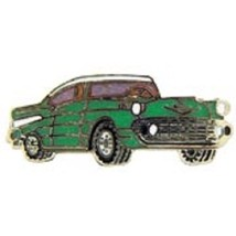 1957 Chevy Green Car Emblem Pin Pinback - $7.91