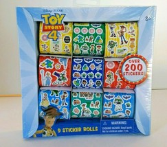 Toy Story 4 Sticker Rolls 200+ Pcs Disney Pixar - $6.43