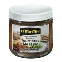 El Ma Mia Seasoning for Tourtieres / Meat Pie 115g - FRESH FROM CANADA - $9.85