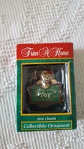"""2.5"""" TRIM A HOM TREE CHARM COLLECTIBLE ORNAMENT, MOUSE IN TOY BOX, PLASTIC - $4.94"""