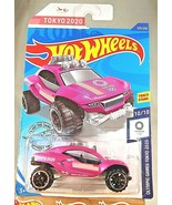 2020 Hot Wheels Treasure Hunt #205 Olympic Game Tokyo 2020 10/10 DUNE DADDY Pink - $20.00