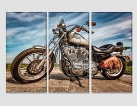 Harley-Davidson Sportster 883 Low Photo Harley-Davidson Canvas Print Bik... - $49.00