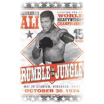 Muhammad Ali T-shirt Rumble Jungle 1970s boxing distressed cotton tee Ali125 image 2