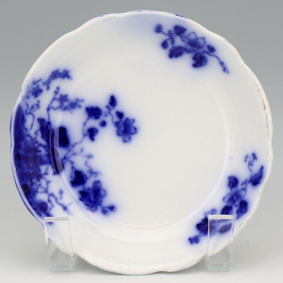 Flow Blue Duchess Cereal Bowls c1900 Grindley England Set of 3