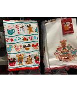 Disney Parks Baking Spirits Bright Mickey Mouse Christmas Kitchen Towel ... - $29.90