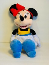 "Disney Parks Minnie Mouse 15"" Plush Doll Pixar Lamp & Luxo Bal New With Tag - $43.11"