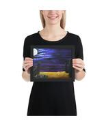"""Framed Poster """"Full Moon Rising"""" - $51.00+"""