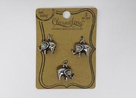 Bead Landing Charmalong Charm - 3 Pc Elephant - $8.99