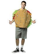 Bob's Burgers Gene Adult Costume Food Halloween Party Unique Cheap GC3881 - ₨3,249.84 INR