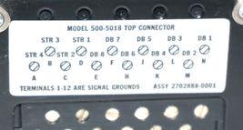 TEXAS INSTRUMENTS 2702888-0001 TOP CONNECTOR MODEL: 500-5018 image 4