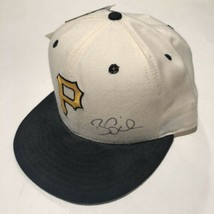 Brian Giles Autographed Pittsburgh Pirates New Era 59-50 Fitted Hat Size 7 - $39.95