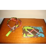 Vera Bradley Lola Lanyard And Zip ID Case - $25.99