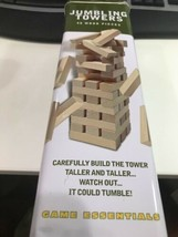 New Cardinal Jumbling Tower 48 Wood Pieces Strategy Nerves Stacking Game... - $24.84
