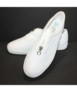 Aerosoles Womens Shoes Size 8B Zip Closure White - $14.39