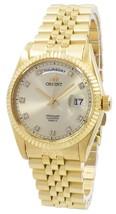 "Orient ""president"" Classic Automatic Diamond Accent Ev0j001g Men's Watch - $330.00"