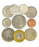 COINS FROM BOLIVARIAN REPUBLIC OF VENEZUELA SOUTH AMERICAN OLD COLLECTIB... - €5,94 EUR