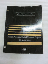 1998 Mercury Villager Powertrain Emissions Service Repair Manual OEM Fac... - $2.35