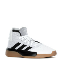 ADIDAS PRO ADVERSARY 2019 MID TRAINER SPORT SNEAKER MEN SHOES WHITE SIZE... - $98.99