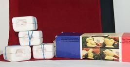 La Culinaire Petite Classiques 1980 RABBIT Butter Molds  Set of 4 Origin... - $19.75