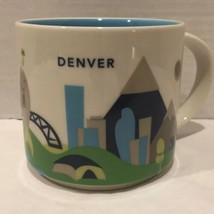 49dcc46a905 Starbucks Denver You Are Here Coffee Mug Colorado Mountains Mile High -  $24.74