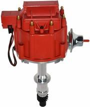 Pontiac SB BB HEI Distributor 301 326 350 389 400 421 428 455 8mm Spark Plug Kit image 2