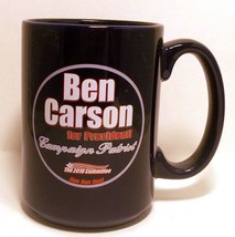 Ben Carson for President 2016 Election Coffee Cup Mug Campaign Patriot P... - $19.79