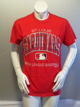 St Louis Cardinals Shirt (VTG) - Type Set Script by Russell Athleitc-Men... - $55.00