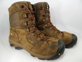 "Keen Detroit 8"" Size US 12 2E WIDE EU 46 Men's WP Soft Toe Work Boots 1017816EE"
