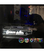 rgb graphics card holder avergers series iron man bat man spiderman cust... - $27.00