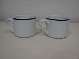 Dansk Bistro CHRISTIANSHAVN BLUE (2) Flat Cups | Portugal - $8.60